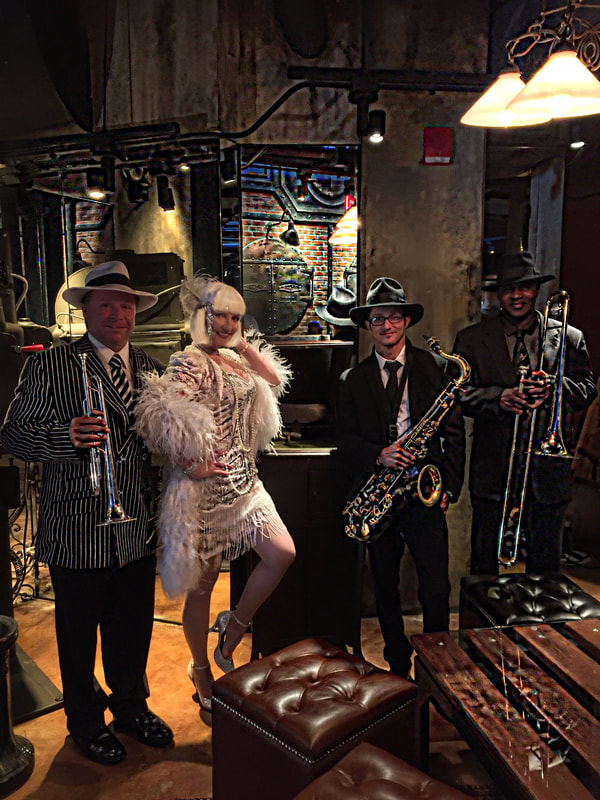 www.orlandoband.com, Gatsby band Charleston, Myrtle Beach, South Carolina for 1920's theme Speakeasy and Roaring 1920s theme events.