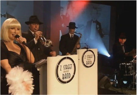 www.orlandoband.com, Gatsby band West Palm Beach, Florida for 1920's theme Speakeasy and Roaring 1920s theme events.