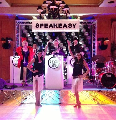 www.orlandoband.com, Gatsby band Ponte Vedra Beach, Florida for 1920's theme Speakeasy and Roaring 1920s theme events.